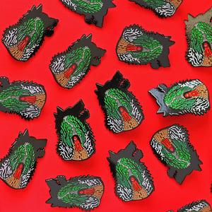 Image of Dark Fairytales 3 pin set - baba yaga - little red riding hood - Hansel & Gretel enamel pins