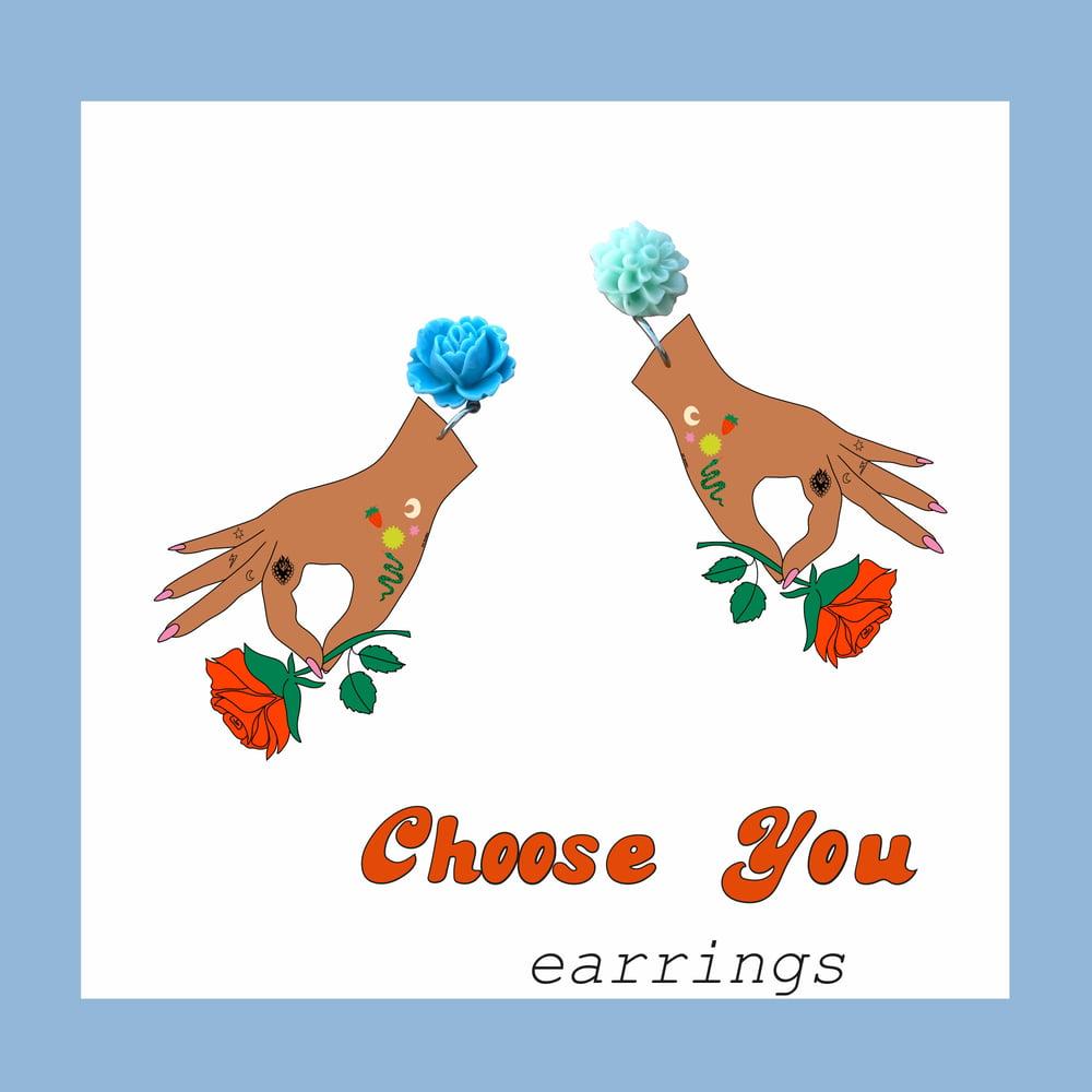 Image of Choose You earrings
