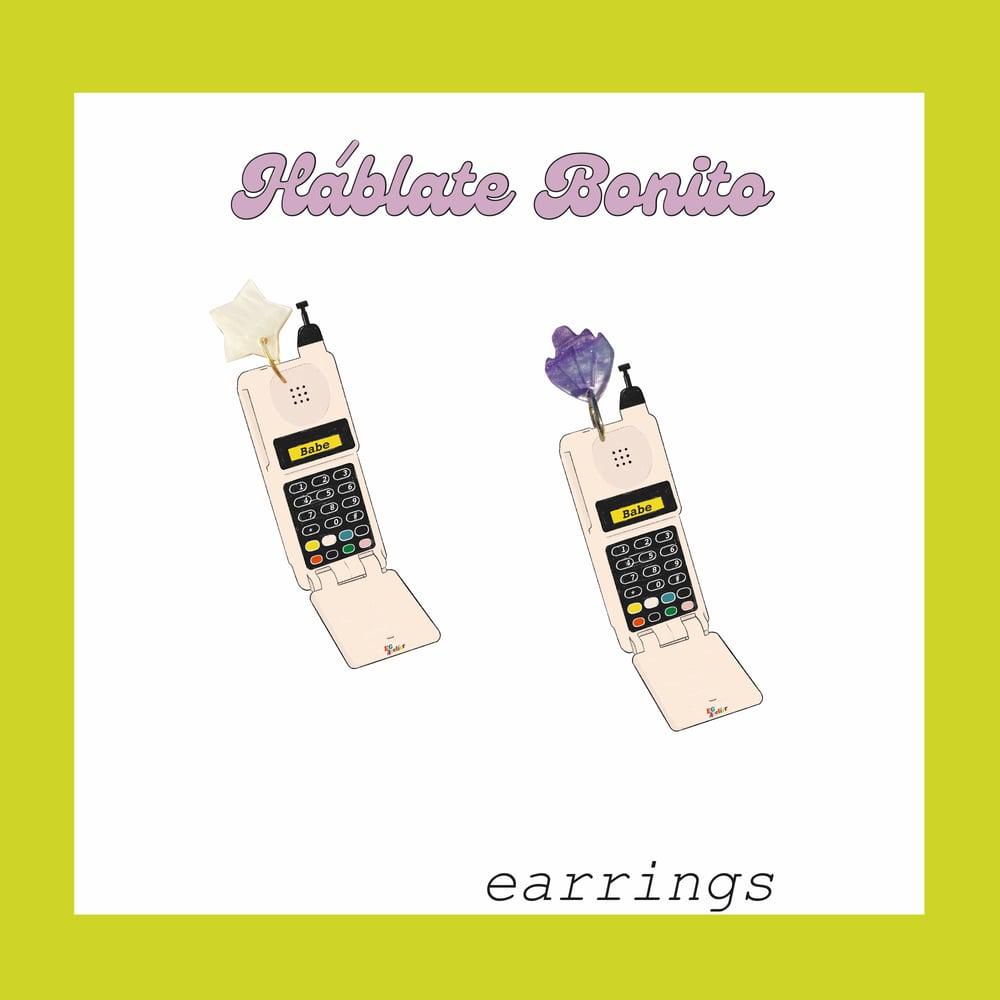 Image of Háblate Bonito earrings