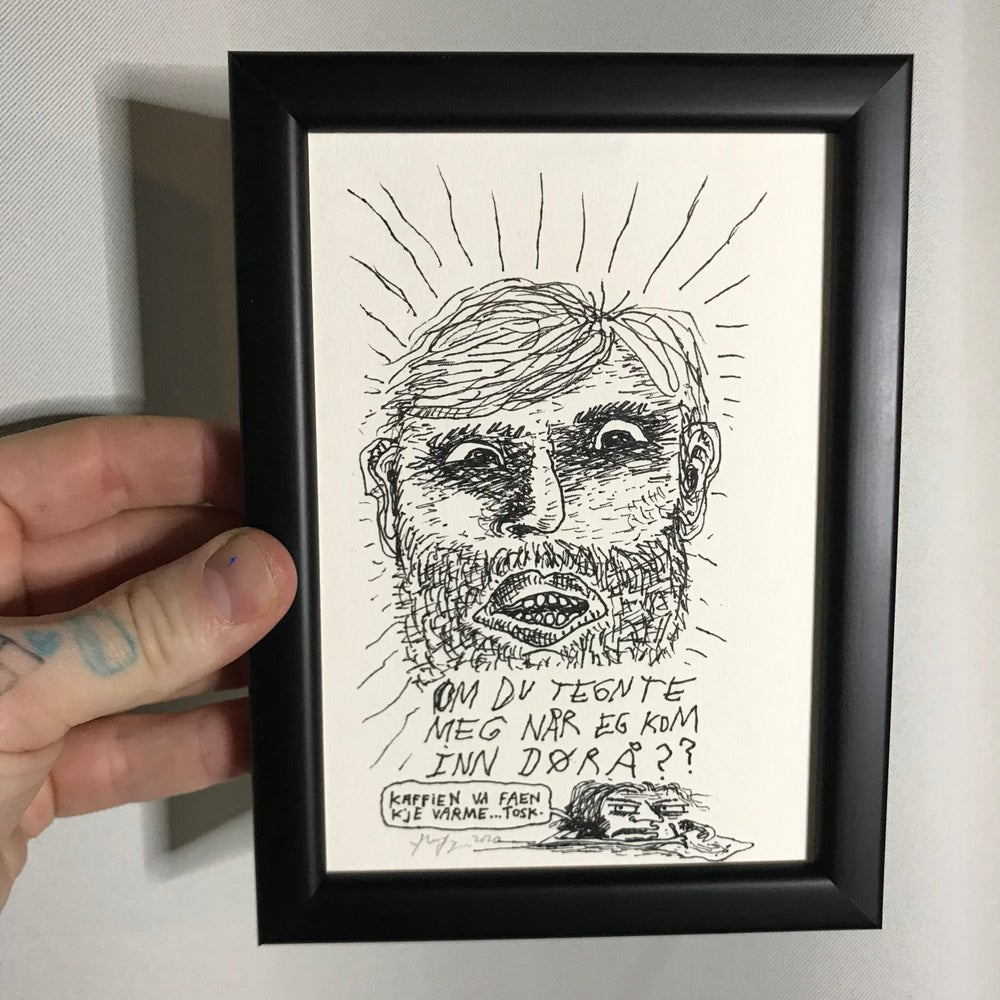 Image of Thomas (Original Drawing w/frame)