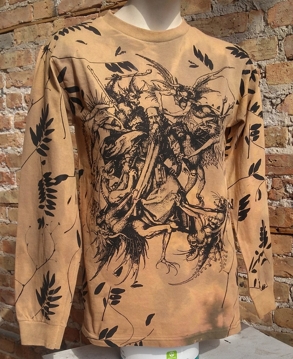 Image of Temptation of St. Anthony Longsleeve [ALL SIZES]