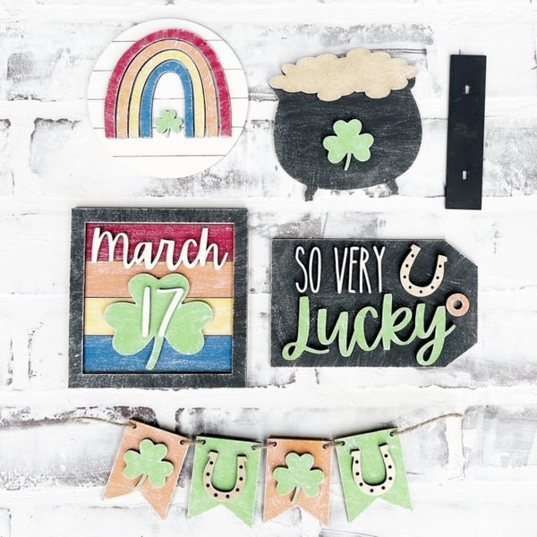Image of Tiered Tray - St. Patty's Day Inspired