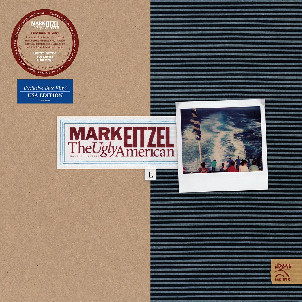Image of Mark Eitzel - The Ugly American LP - LIMITED EDITION BLUE VINYL