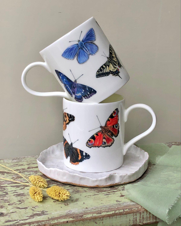 Image of 'Butterfly' Mug