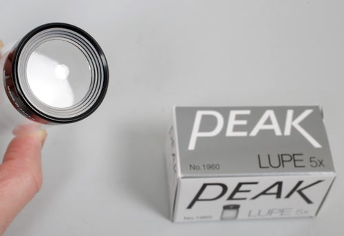 Image of CatLABS (PEAK) 5X Achromatic ground glass focusing Loupe/Lupe negative