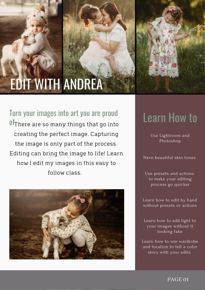 Image of Editing class with Andrea Martin Photography