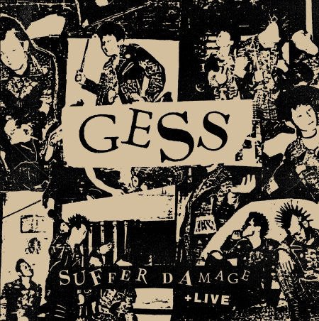 "GESS ""Suffer Damage + Live"" LP w/CD"