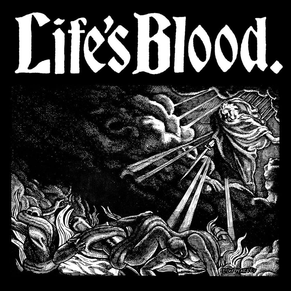 """LIFE'S BLOOD """"Hardcore A.D. 1988"""" LP"""