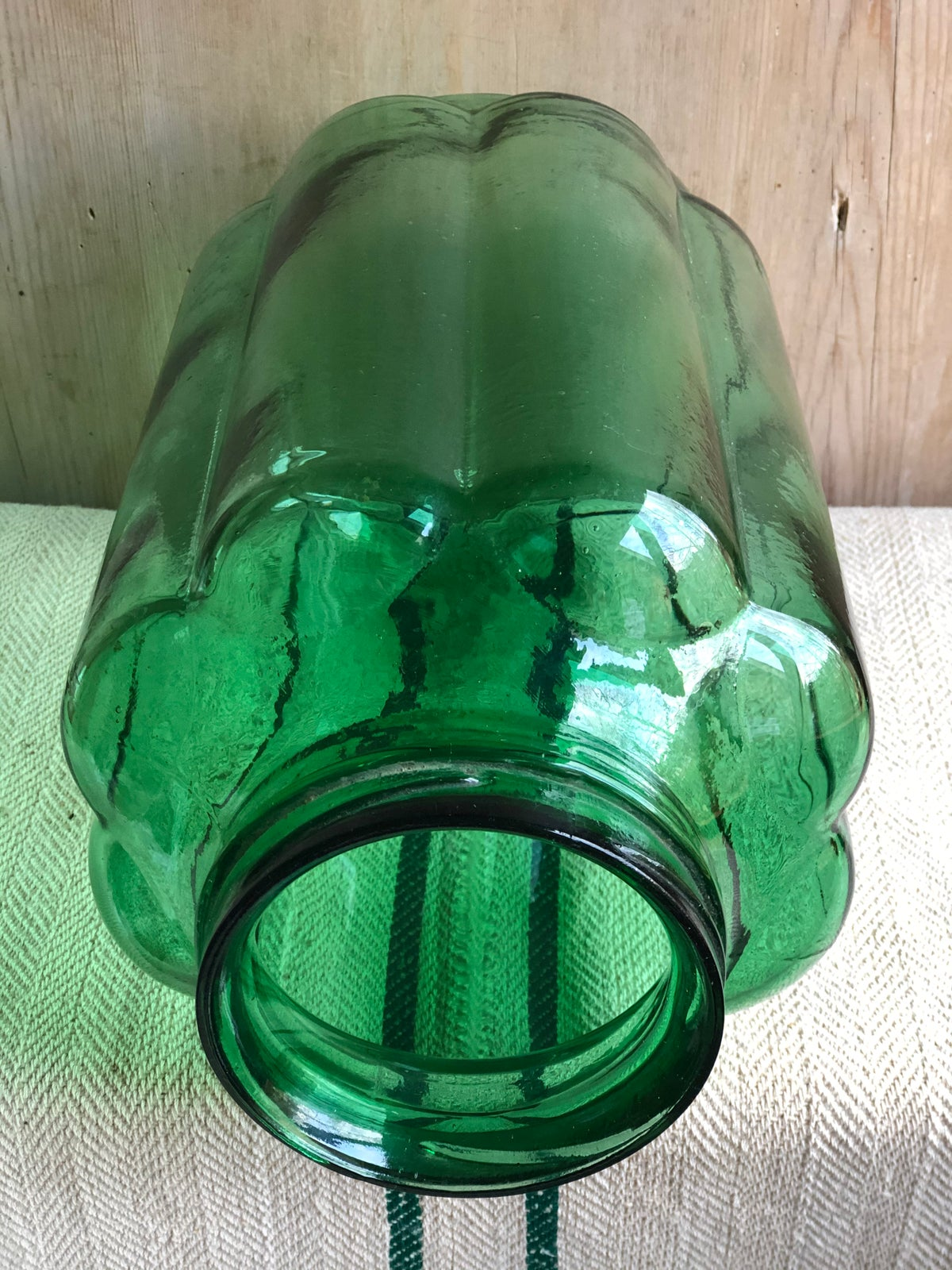 Image of Green Hungarian pickling jar