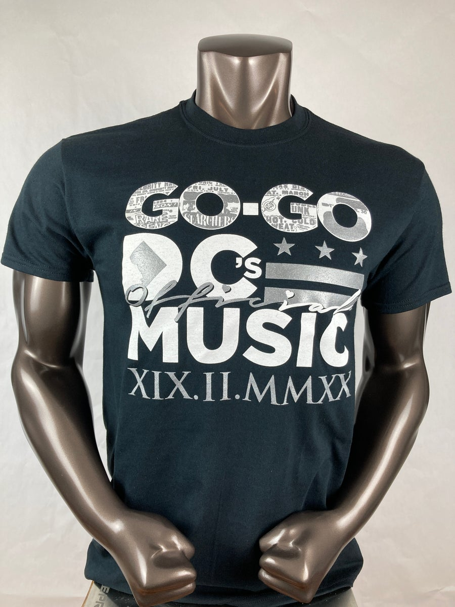 Image of Go-Go DC's Official Music V2 T-shirt