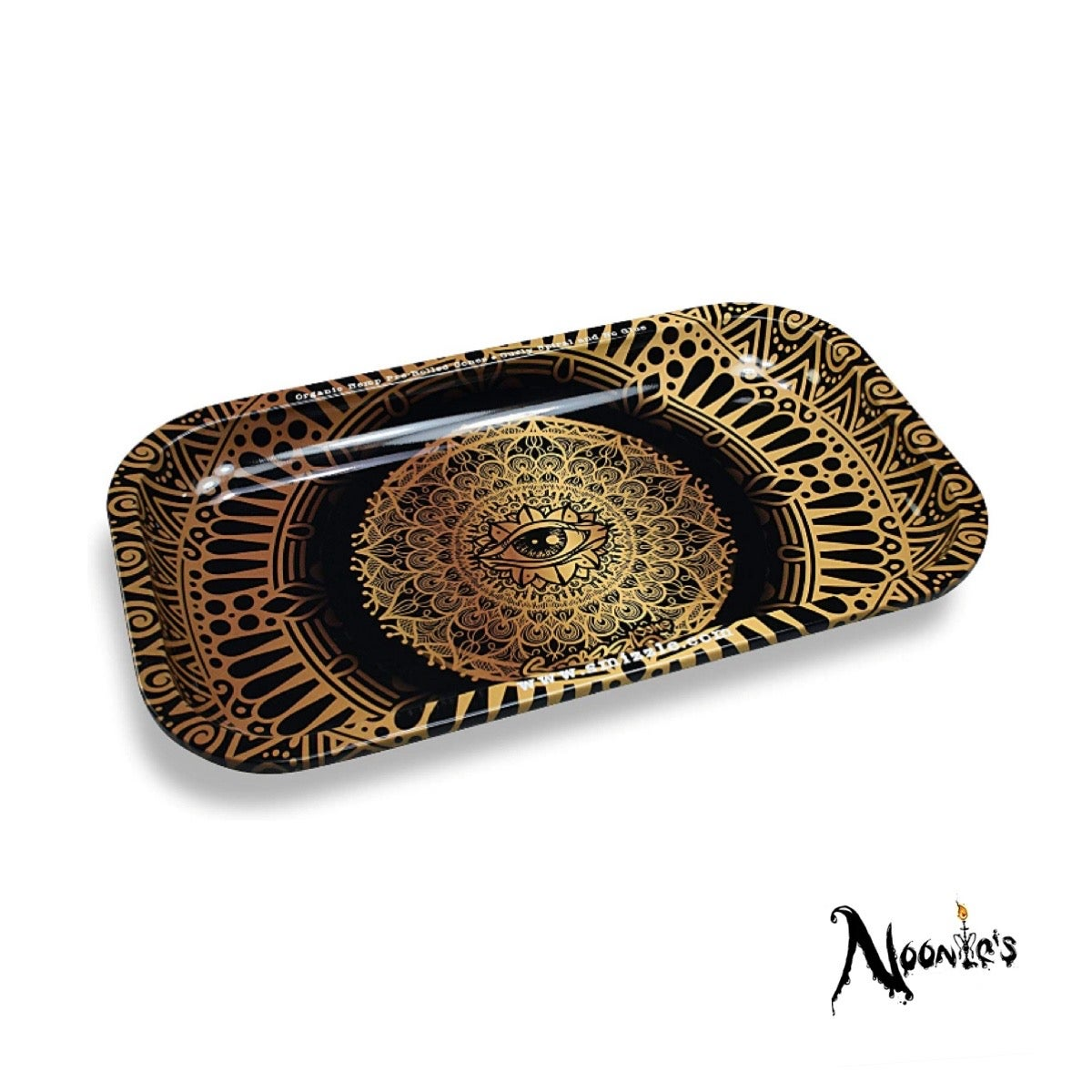 Image of Golden eye rolling tray