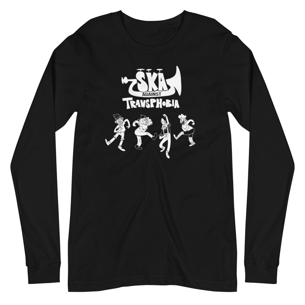 Image of SKA AGAINST TRANSPHOBIA | LONG SLEEVE SHIRT