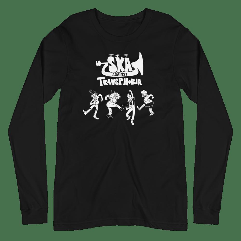 Image of SKA AGAINST TRANSPHOBIA | LONG SLEEVE SHIRT