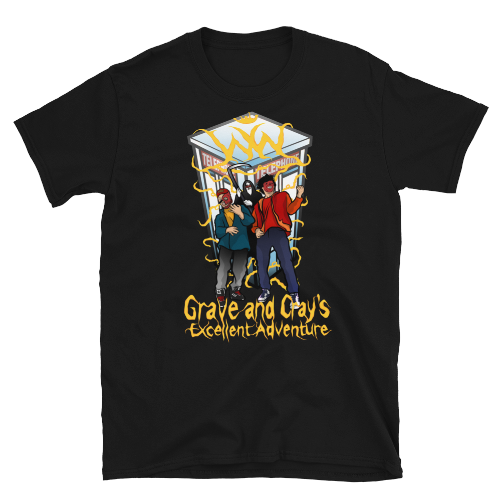 Image of Grave & Cray's Excellent - T-Shirt (BLACK)