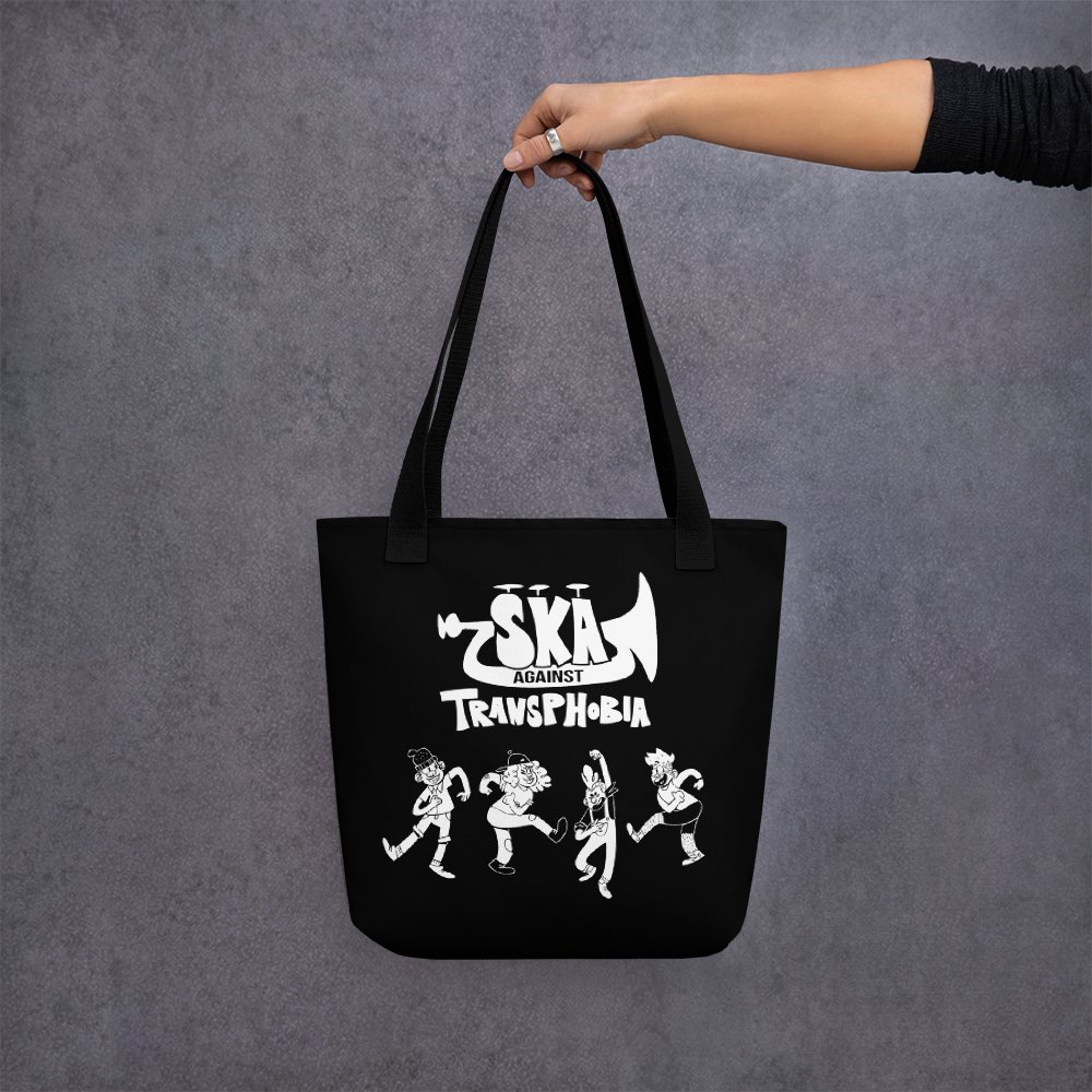 Image of SKA AGAINST TRANSPHOBIA | Tote bag