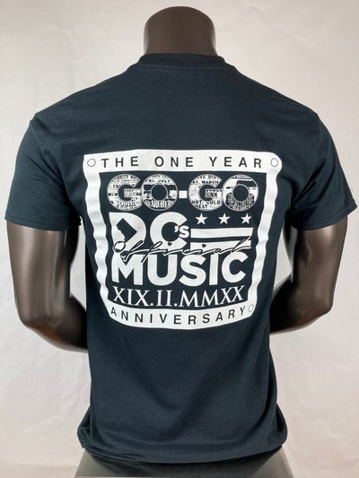Image of DC's Official Music 1 Year Anniversary T-shirt (10C3)