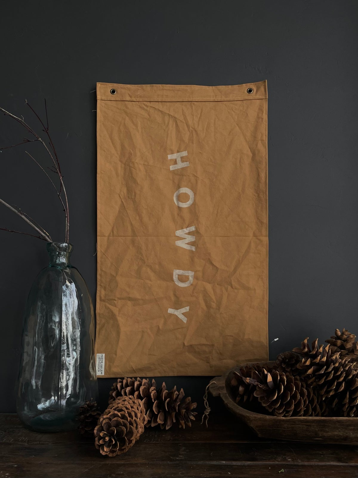 Image of HOWDY FLAG