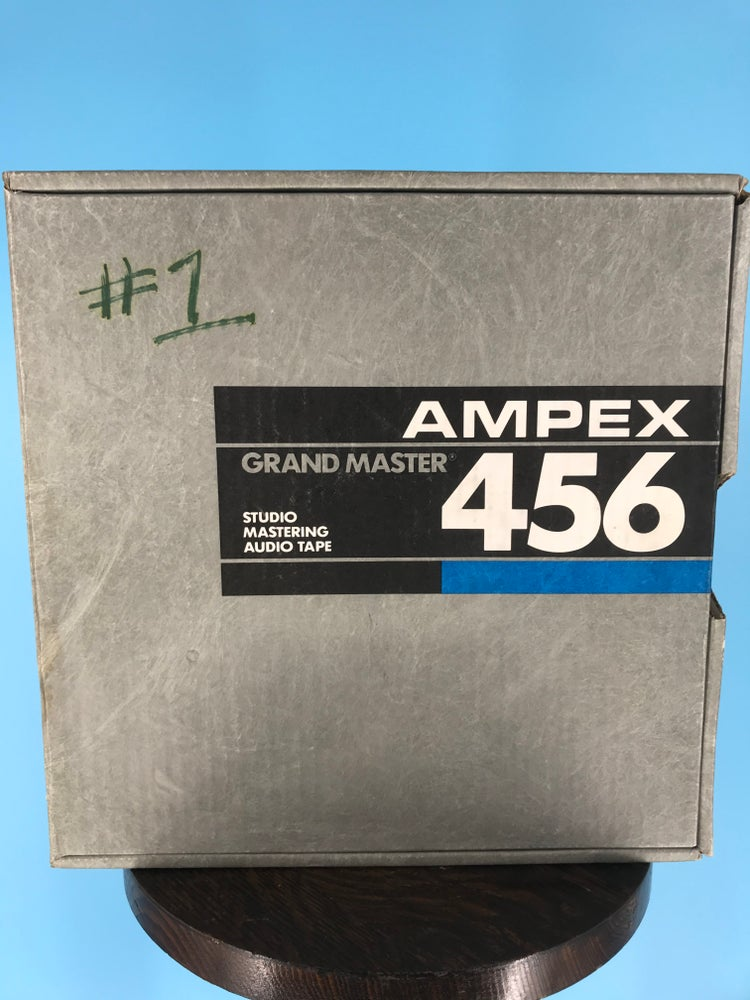 "Image of AMPEX 456-97G111 2"" X 2500' REEL TO REEL MASTER TAPE - ONE PASS"