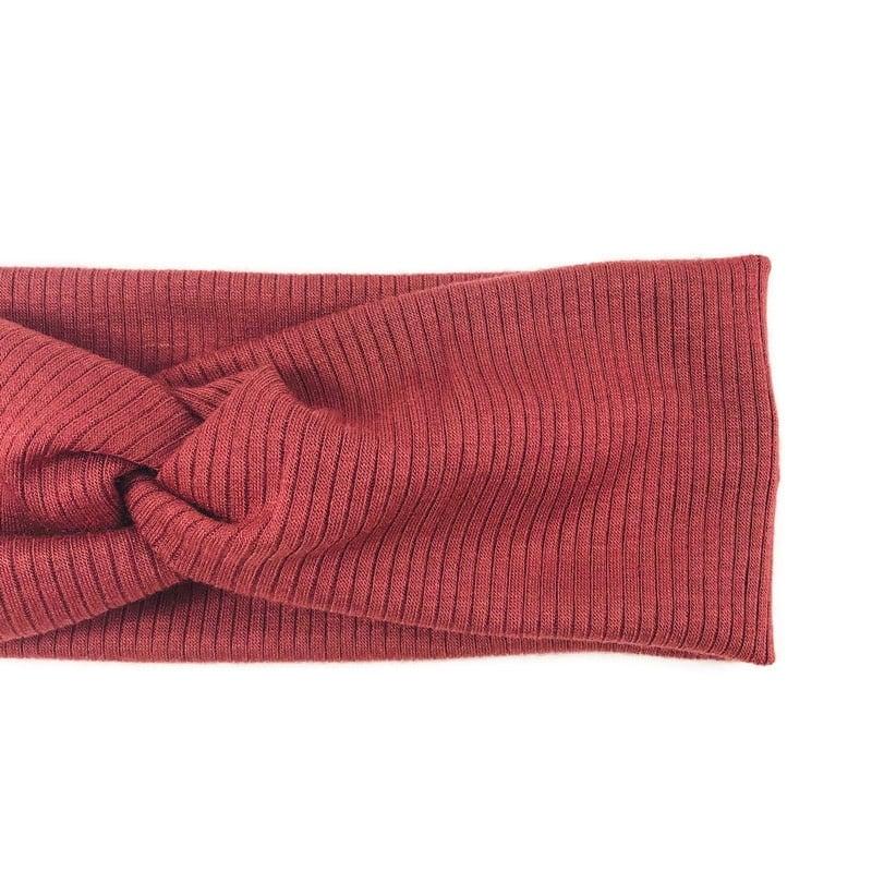 Image of Rosewood Twisted Headband