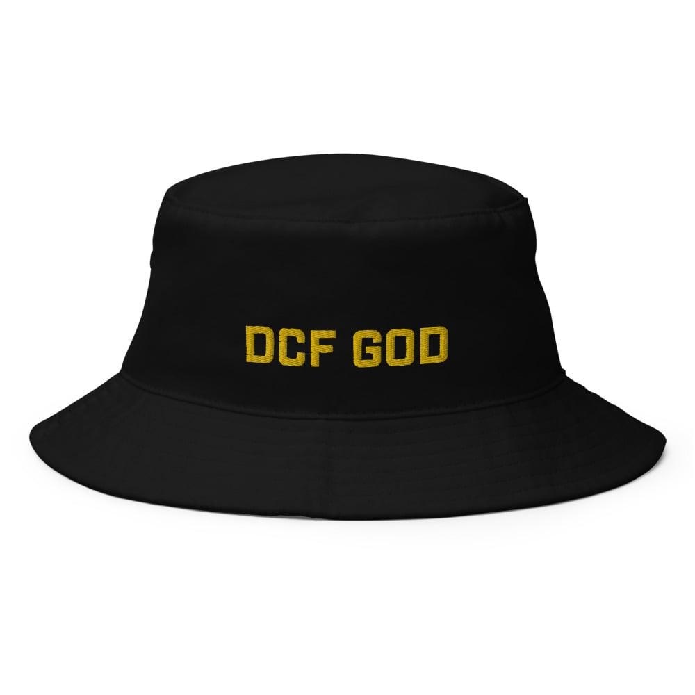 Image of dcf god bucket hat (black)