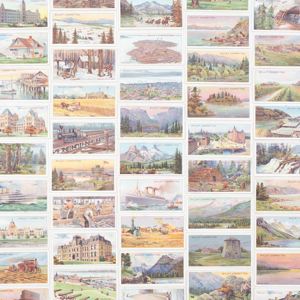 Image of Overseas Dominions (Canada) Cigarette Cards - Set of 8