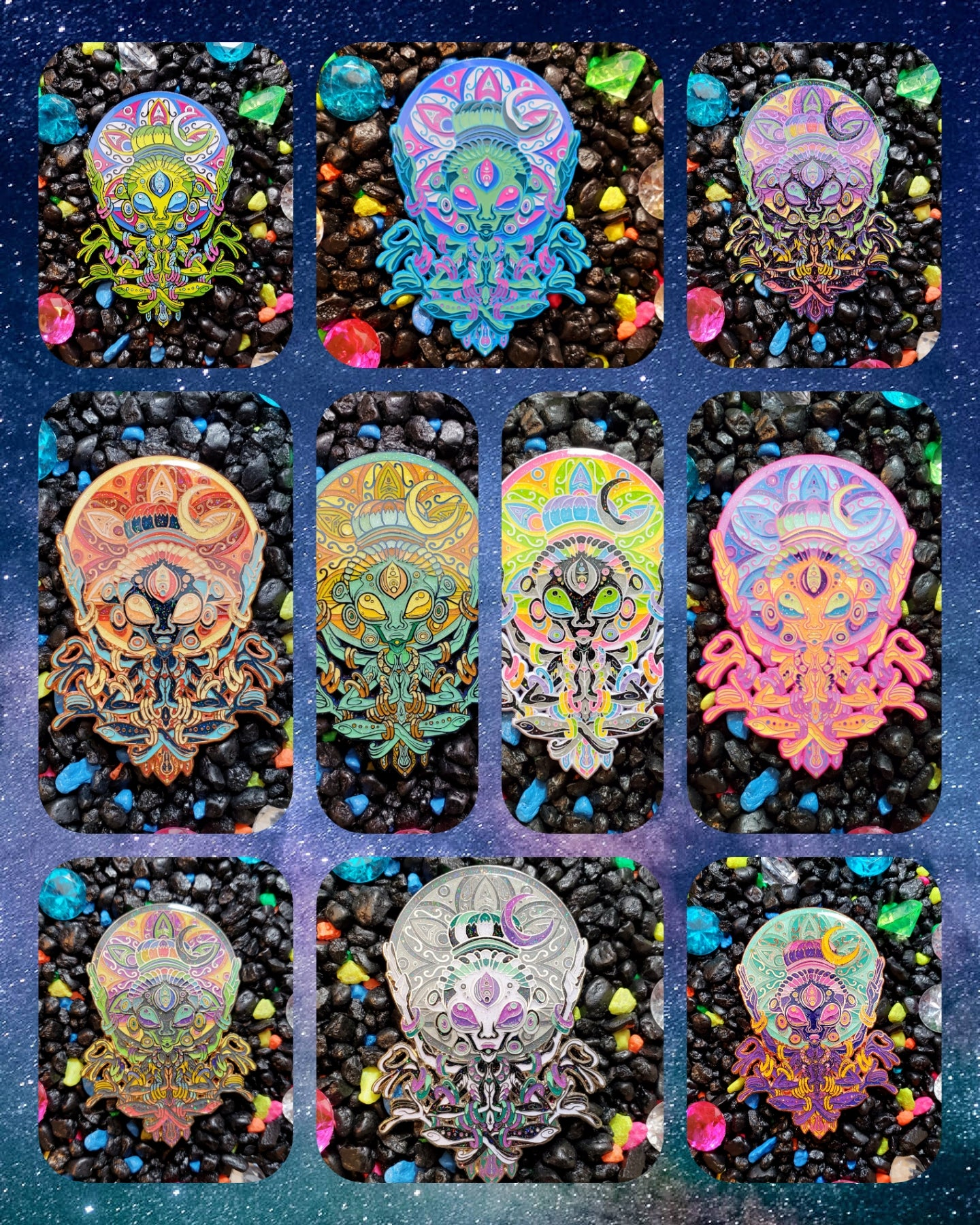 Image of 👽☮ We Come In Peace Collectors Set ☮👽