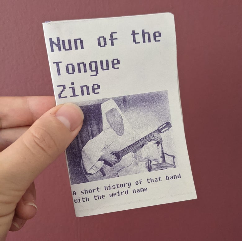 Image of Nun of the Tongue Zine