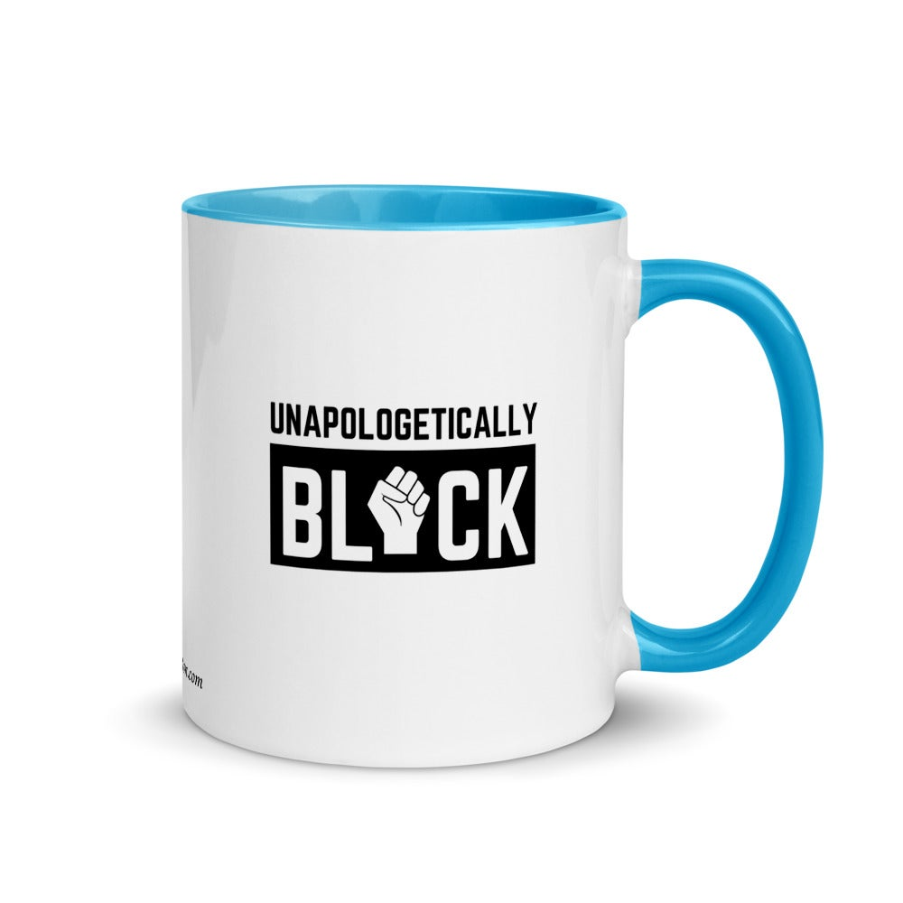 Image of Unapologetically BLACK Mug with Color Inside
