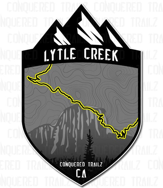 """Image of """"Lytle Creek"""" Trail Badge"""