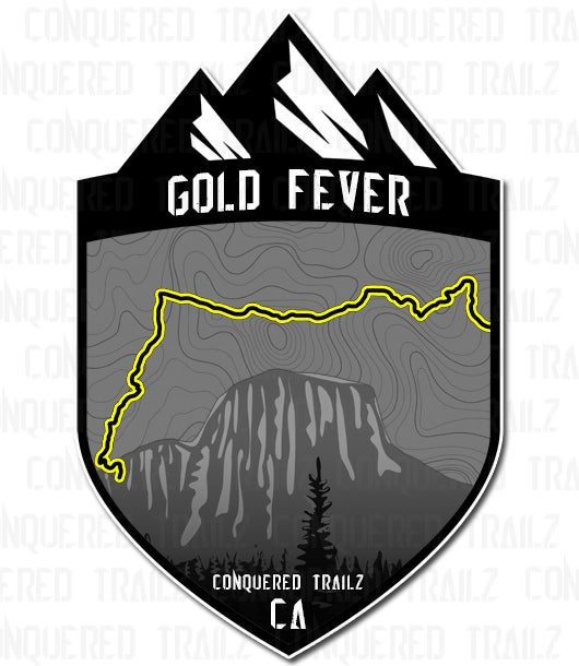 """Image of """"Gold Fever"""" Trail Badge"""