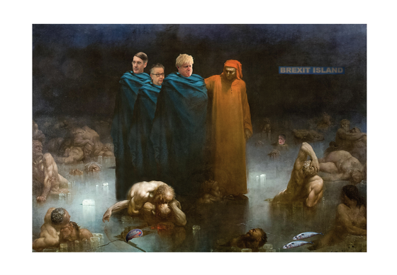 Image of Brexit Island - Limited Edition Print (100 copies only)