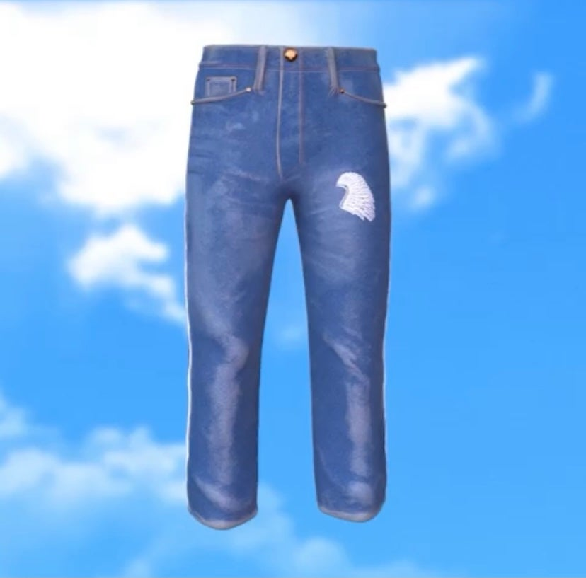 Image of First storybook Jean ~ blue