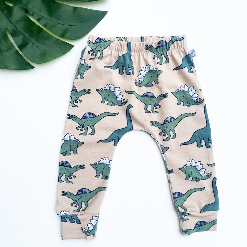 Image of *NEW* Green Dino Leggings