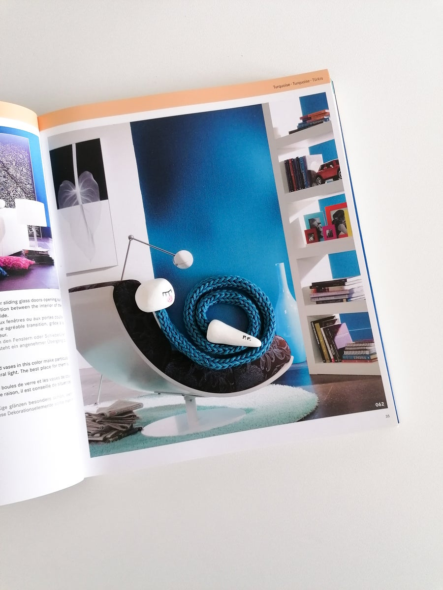 Image of Bookworm Bookmark in turquoise