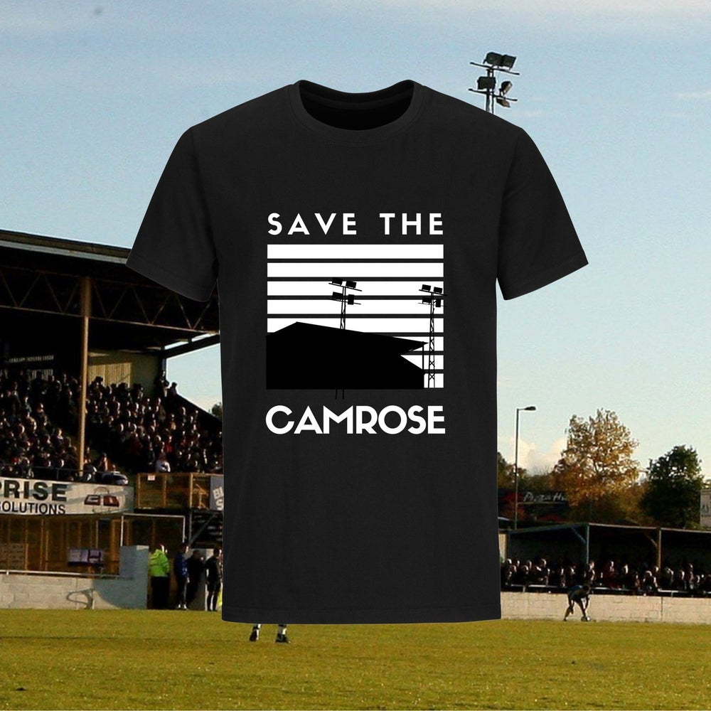 'Save the Camrose' T Shirt - Profits going to the Campaign