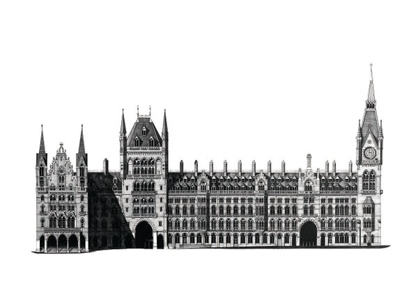 Image of St Pancras. London