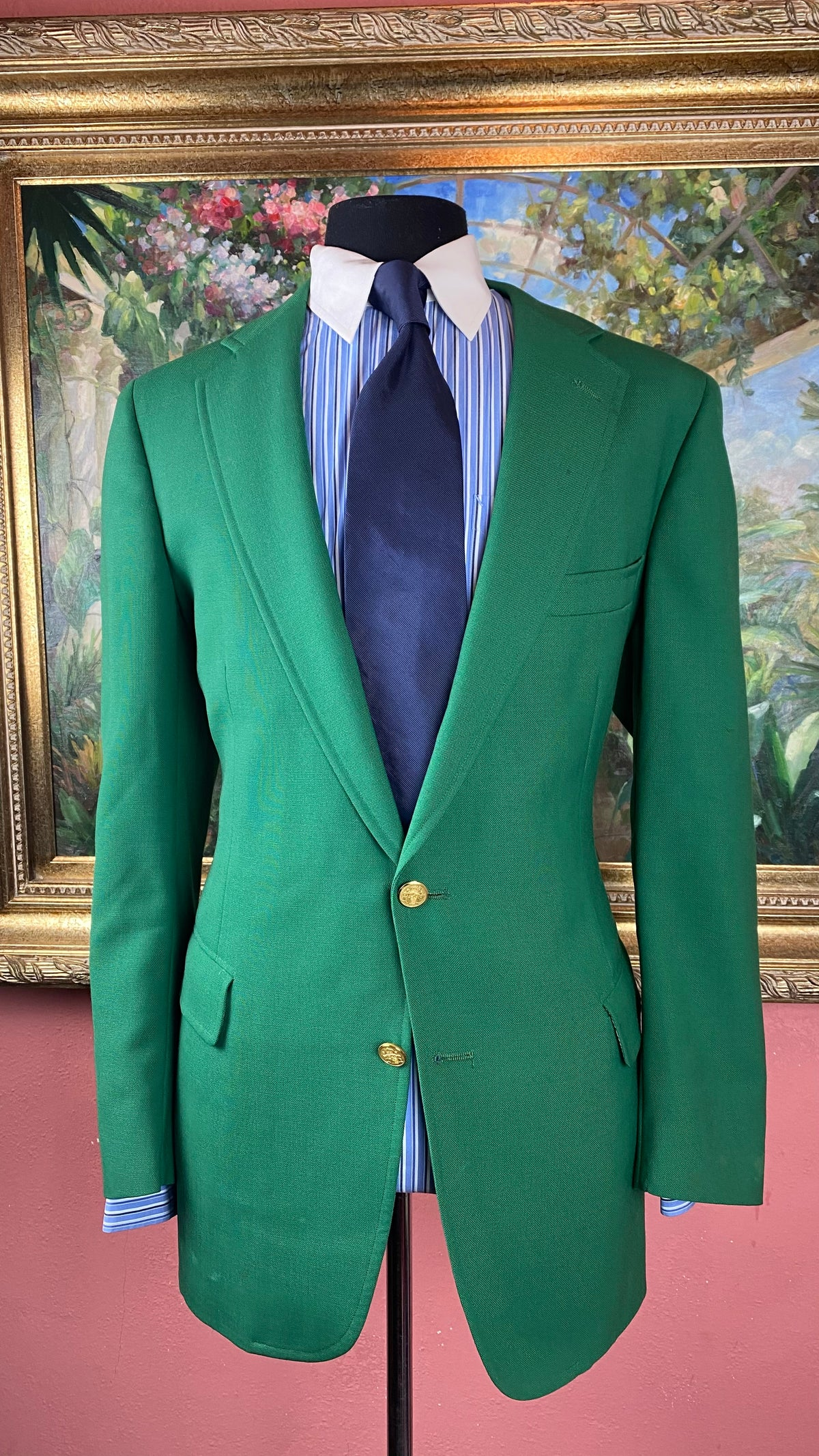 Image of VTG Green Blazer