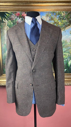 Image of  VTG Speckled Tweed Suit