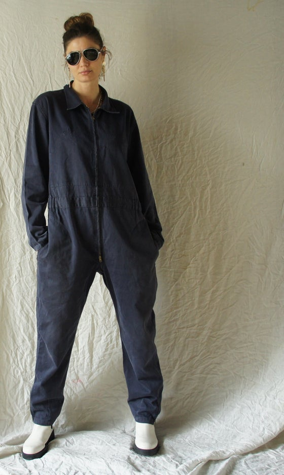 Image of French Workwear Jumpsuit Bleu Marine