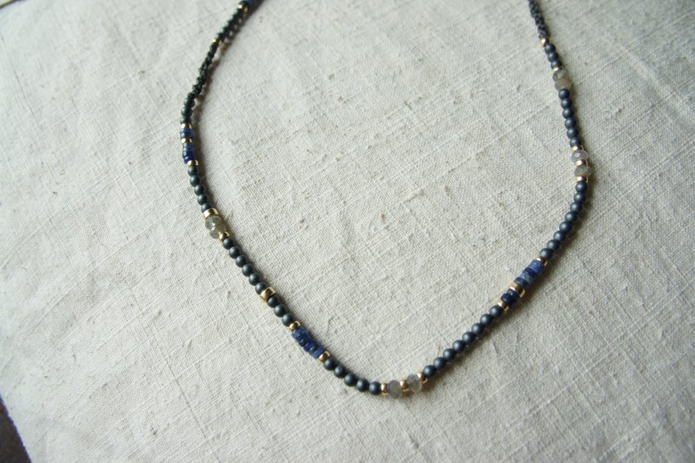 Image of Hom Hematite Necklace
