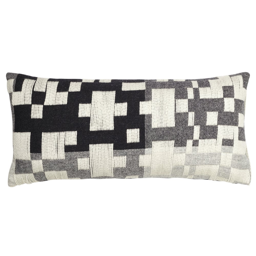 Image of Pennan woven long cushion by Donna Wilson