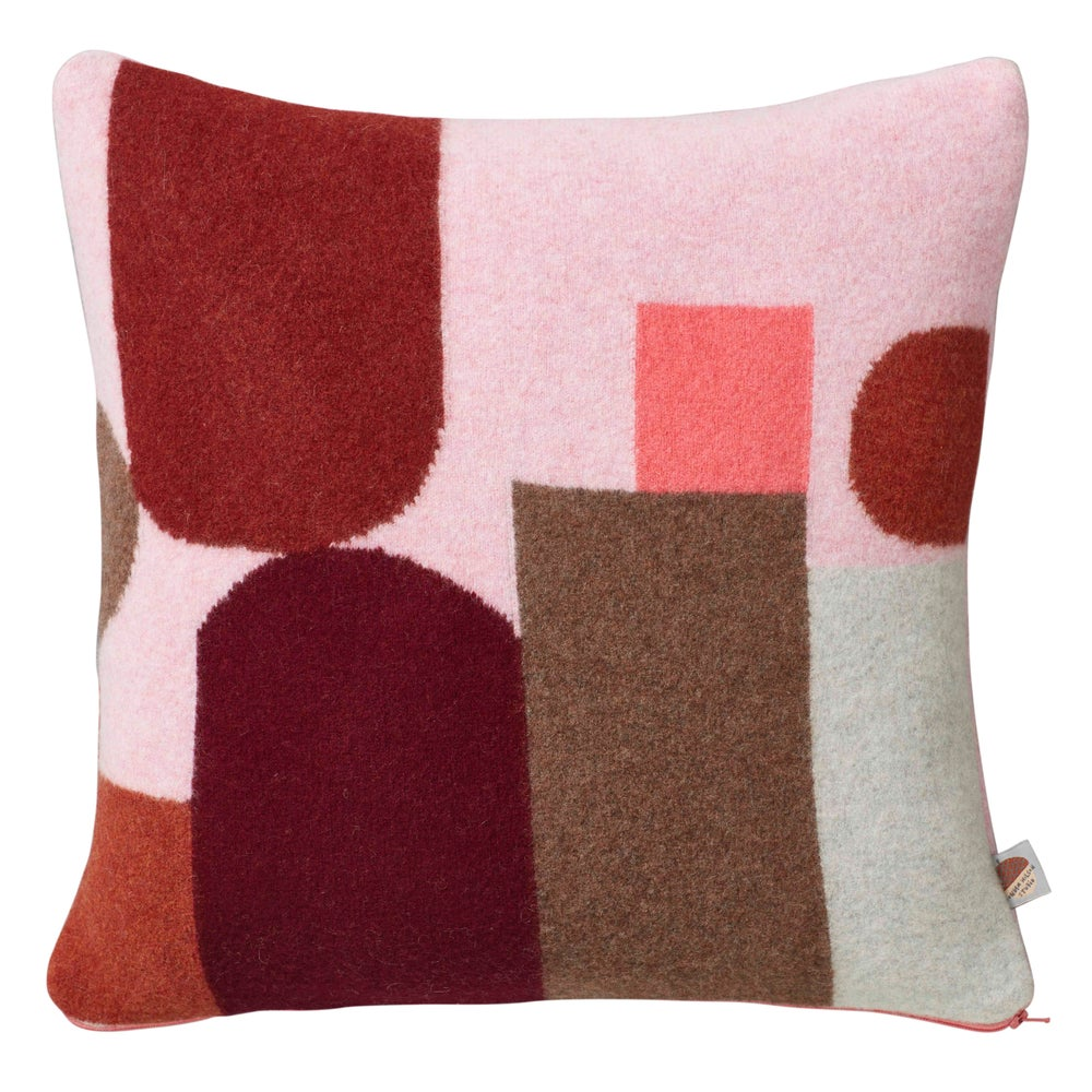 Image of Pink Hue cushion by Donna Wilson