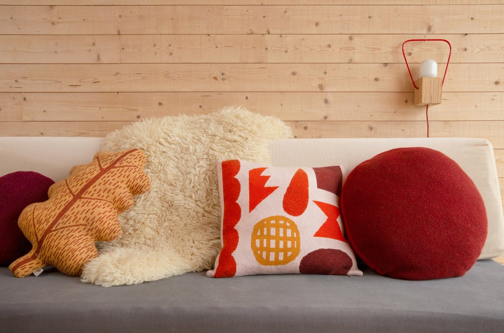 Image of Pick 'n' mix cushion by Donna Wilson