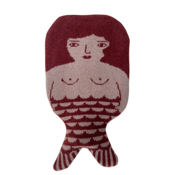 Image of Mermaid hot water bottle by Donna Wilson