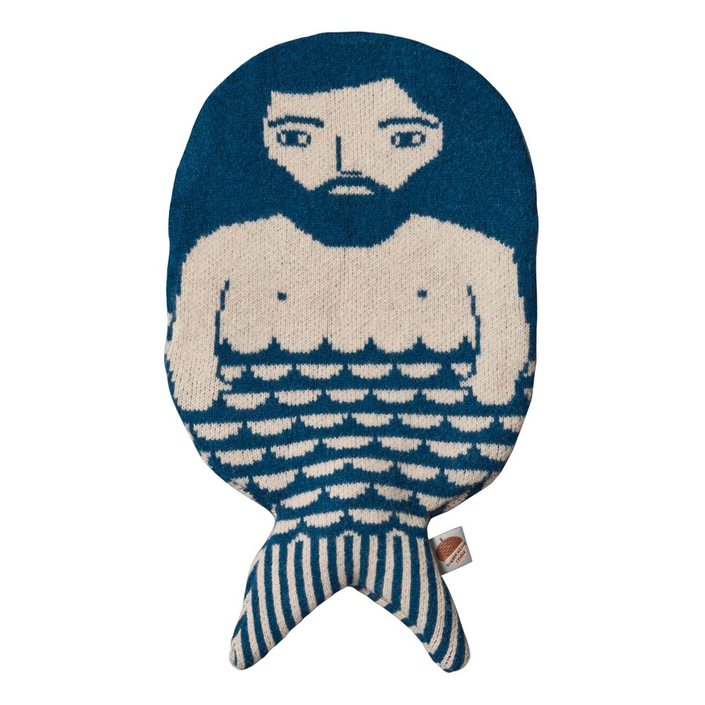 Image of Merman hot water bottle by Donna Wilson