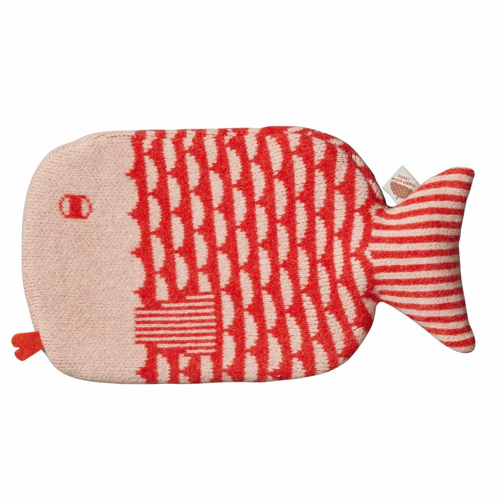 Image of Finn hot water bottle by Donna Wilson