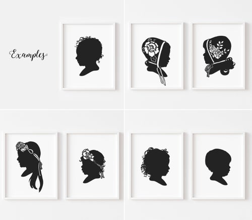 Image of Hand Cut Silhouette