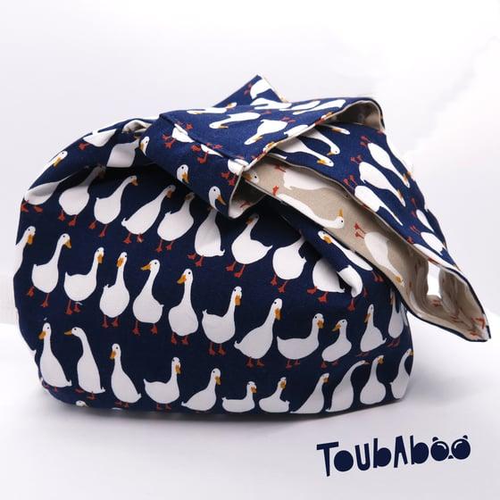 Image of Knot bag réversible petites oies