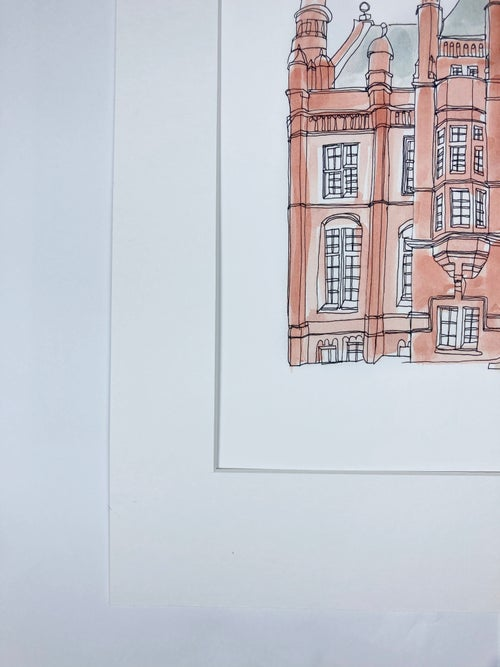 Image of The Whitworth Art Gallery Giclée Print