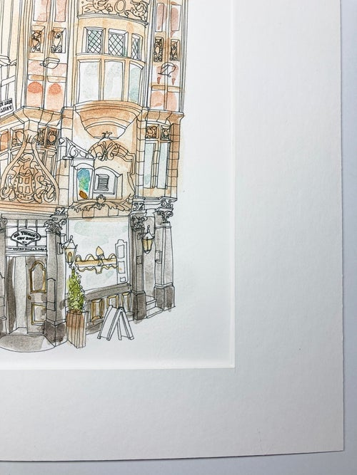 Image of Mr Thomas Chop House Giclee print.